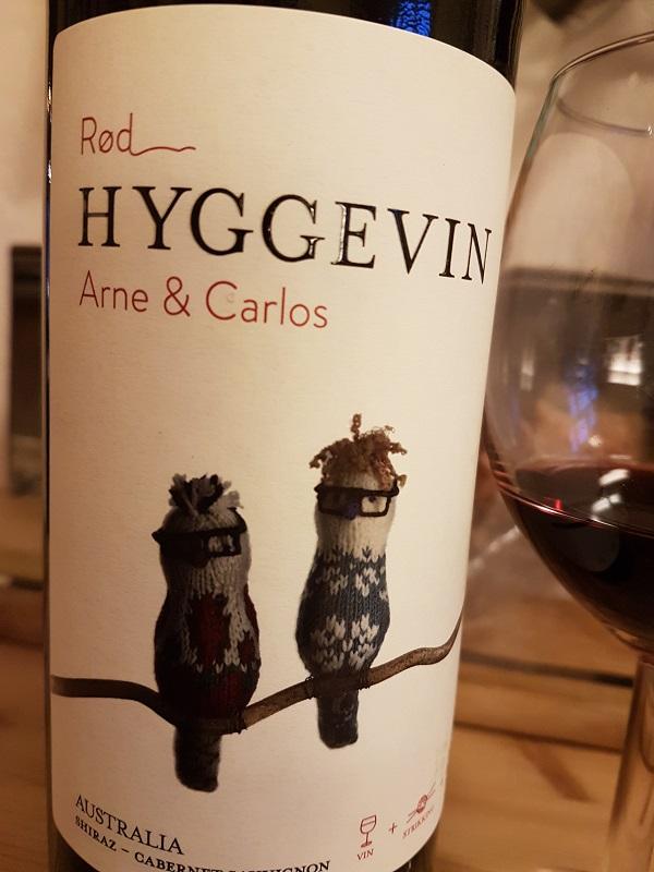 Hyggelig med vin