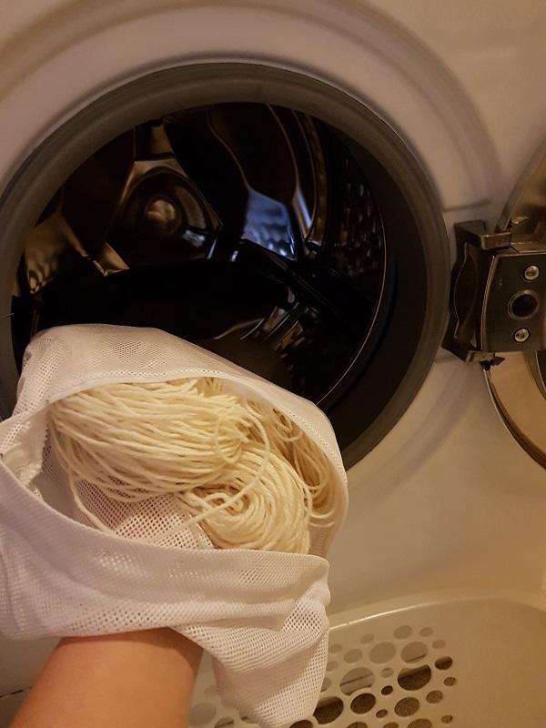 Ull skal vaskes