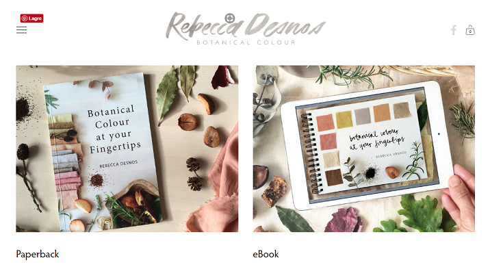 "En liten bokanmeldelse: ""Botanical Colour at your Fingertips"""